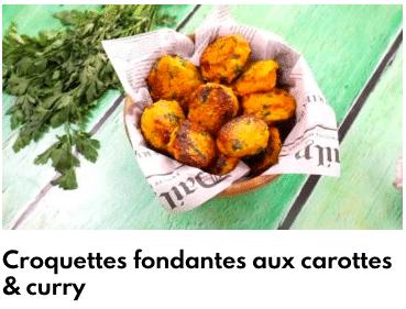 croquettes carottes