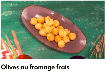olives fromage frais