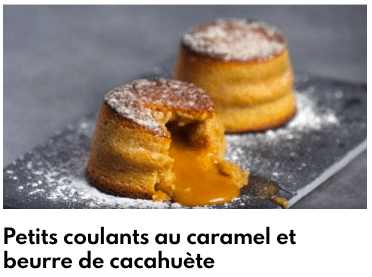 petits coulants caramel beurre salé