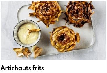 artichauts frits