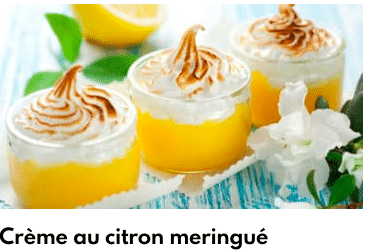 crème au citron meringué