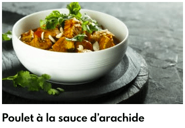 poulet sauce arachide