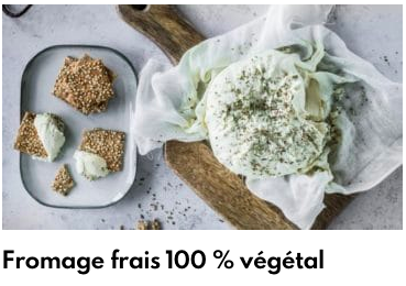 fromage frais végétal