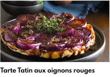 tarte tatin oignons rouges
