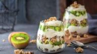 verrines kiwi granola