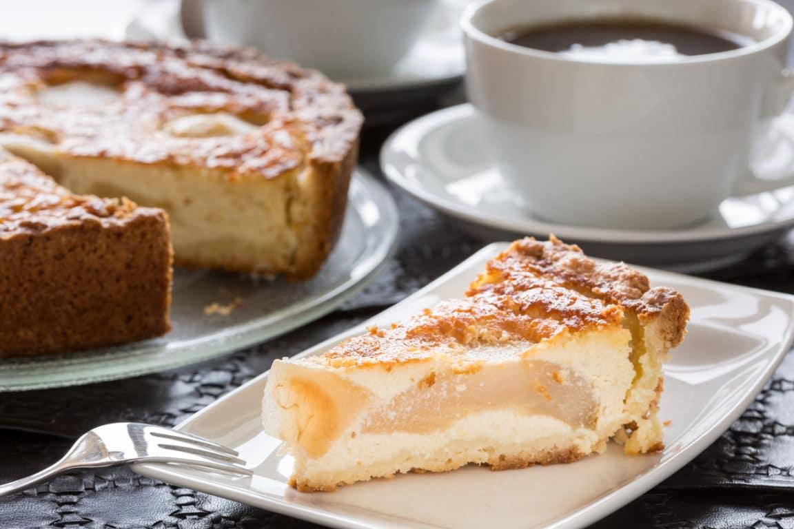 gâteau fondant poires