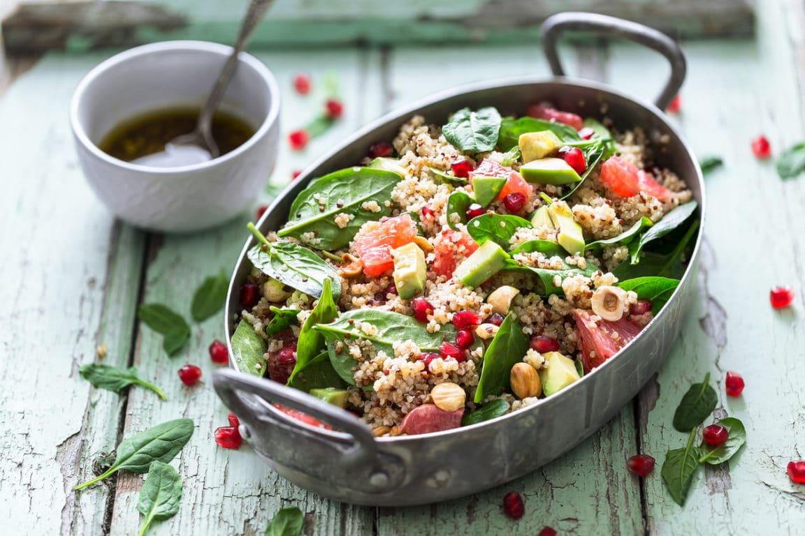 salade quinoa avocat