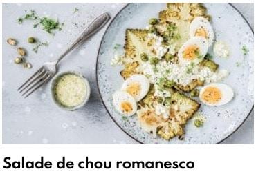 salade de choux romanesco