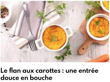 flan carottes