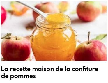 confiture de pommes