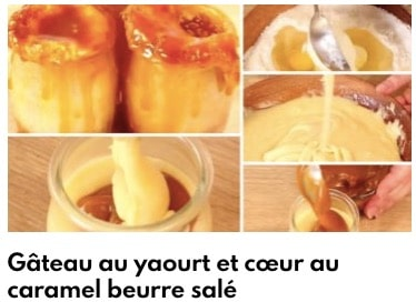 gâteau yaourt caramel