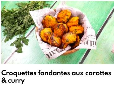 croquette de carottes