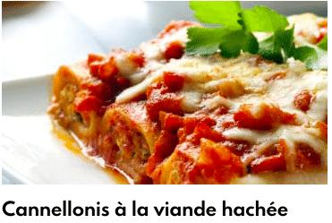 cannellonis viande hachée
