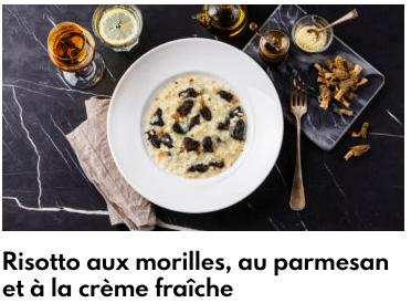 risotto aux morilles