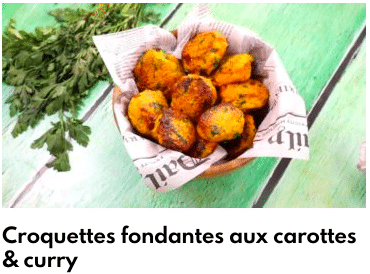 croquettes fondantes carottes