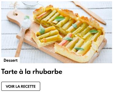 tarte à la rhubarbe