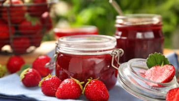confiture de fraises