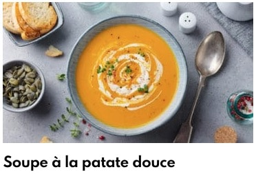 soupe patate douce