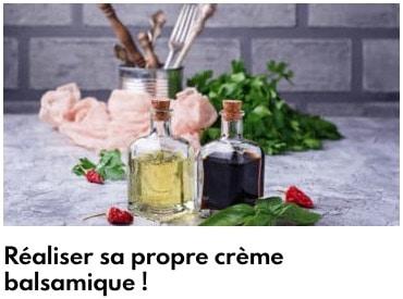 crème balsamique