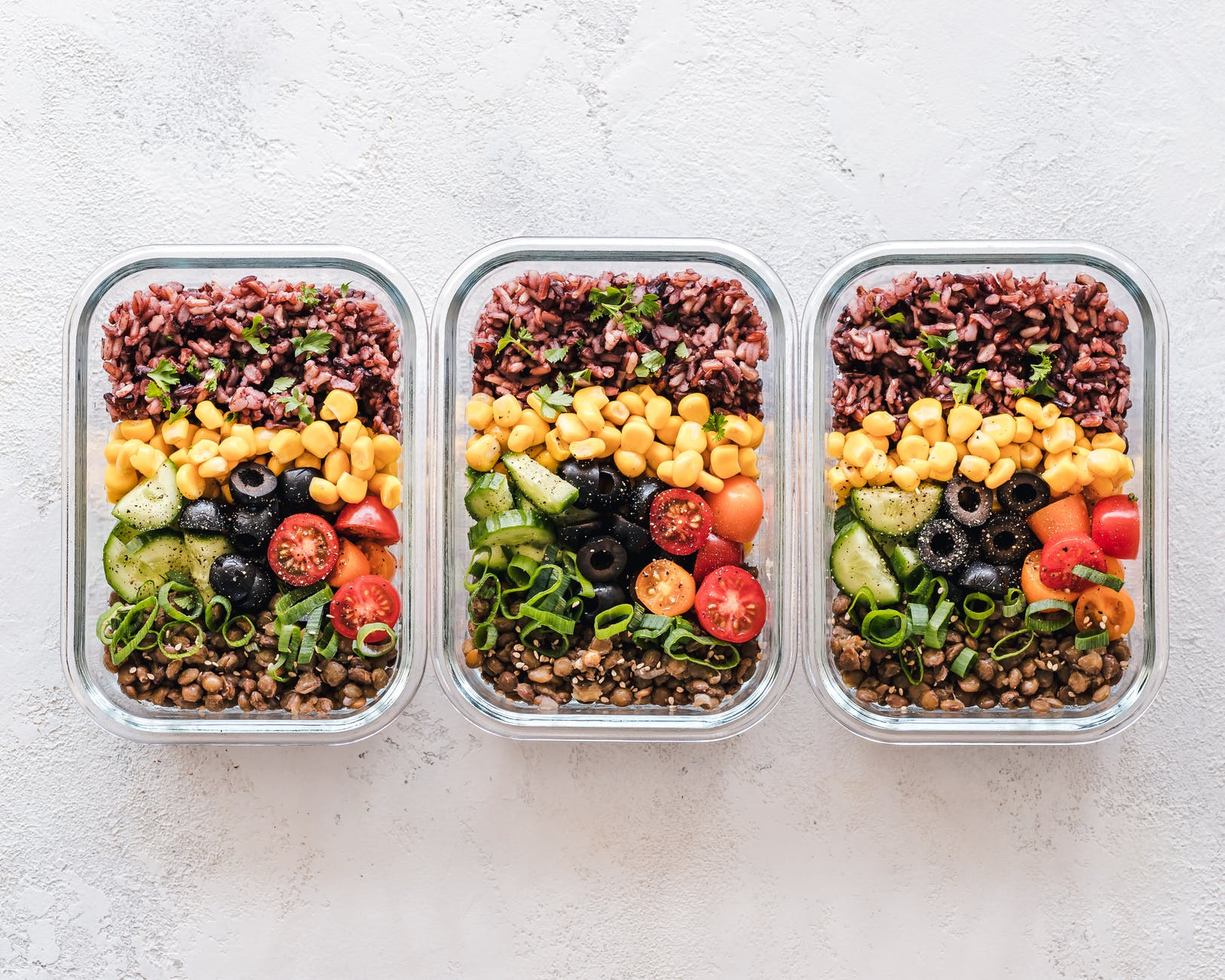 recettes bento salade composé