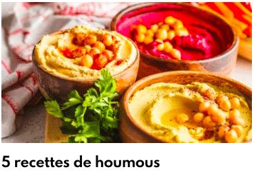 recettes houmous
