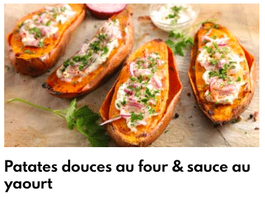 patate douce rrôties