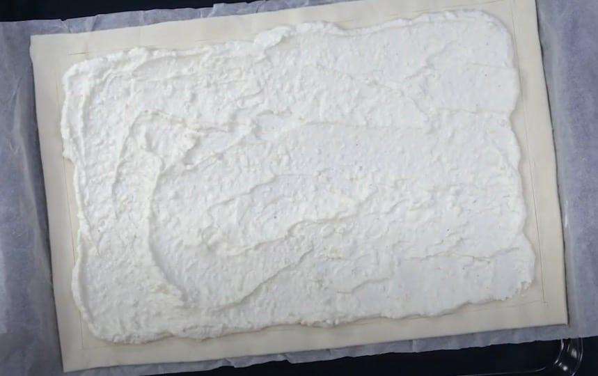 tarte courgette feta