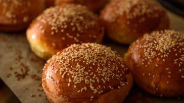 pain à burger
