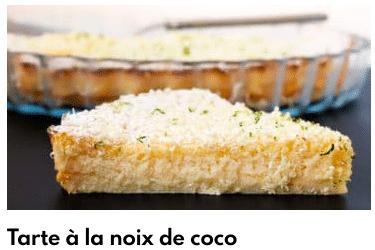 tarte à la noix de coco