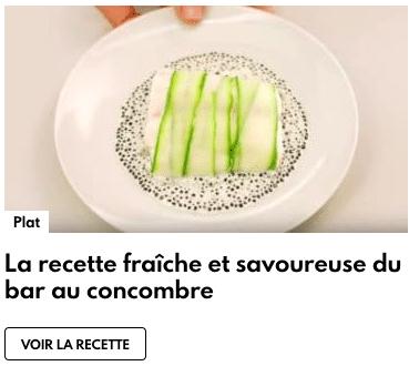 bar au concombre