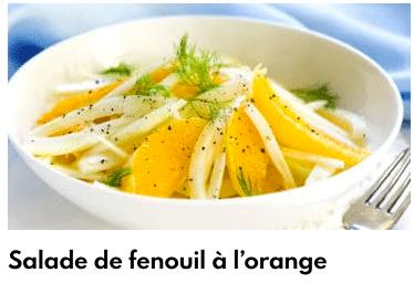salade de fenouil à l'orange