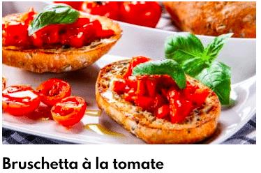 bruschetta tomates