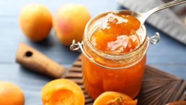 confiture abricots vanille