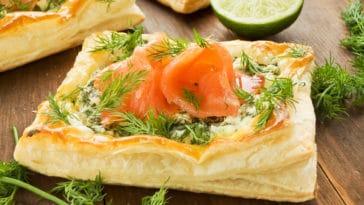 TARTE FEUILLETÉE saumon fenouil