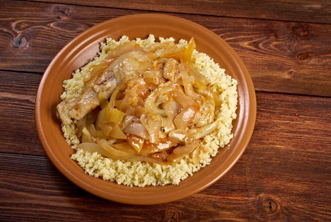 poulet yassa citron