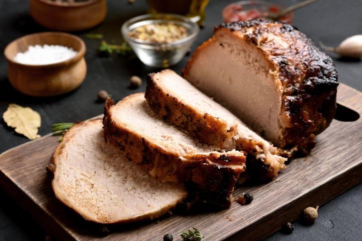 rôti de porc abricots pruneaux