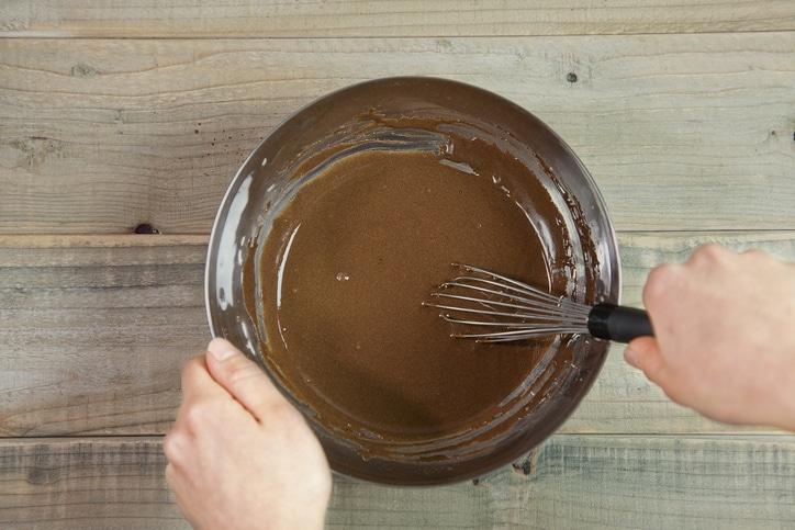 pâte gaufre chocolat