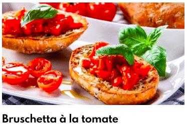 brushetta tomate