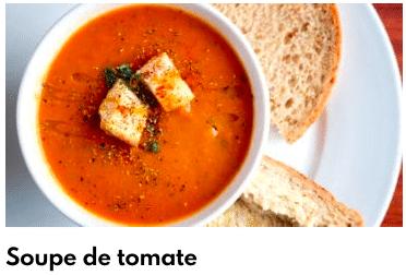 soupe de tomate