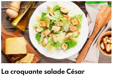 salade croquante césar