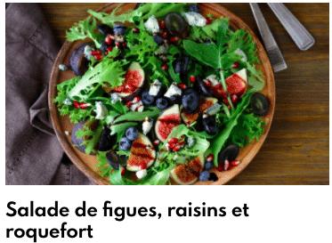 salade roquefort figues