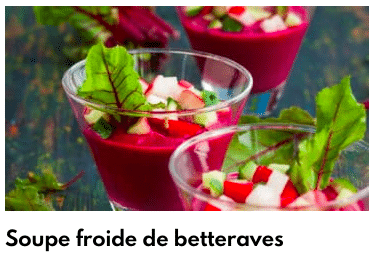 soupe froide betterave