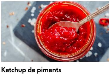 ketchup piment