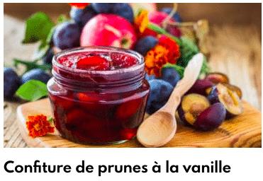 confiture prunes
