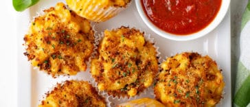 muffins mac & cheese
