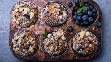 muffins myrtilles pierre hermé