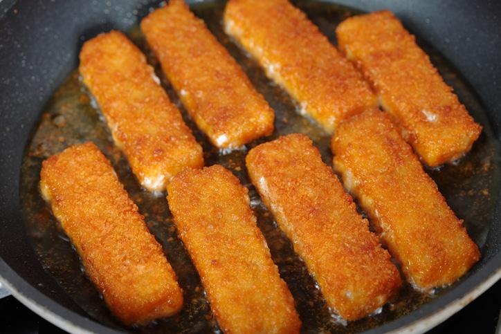filets poisson panés