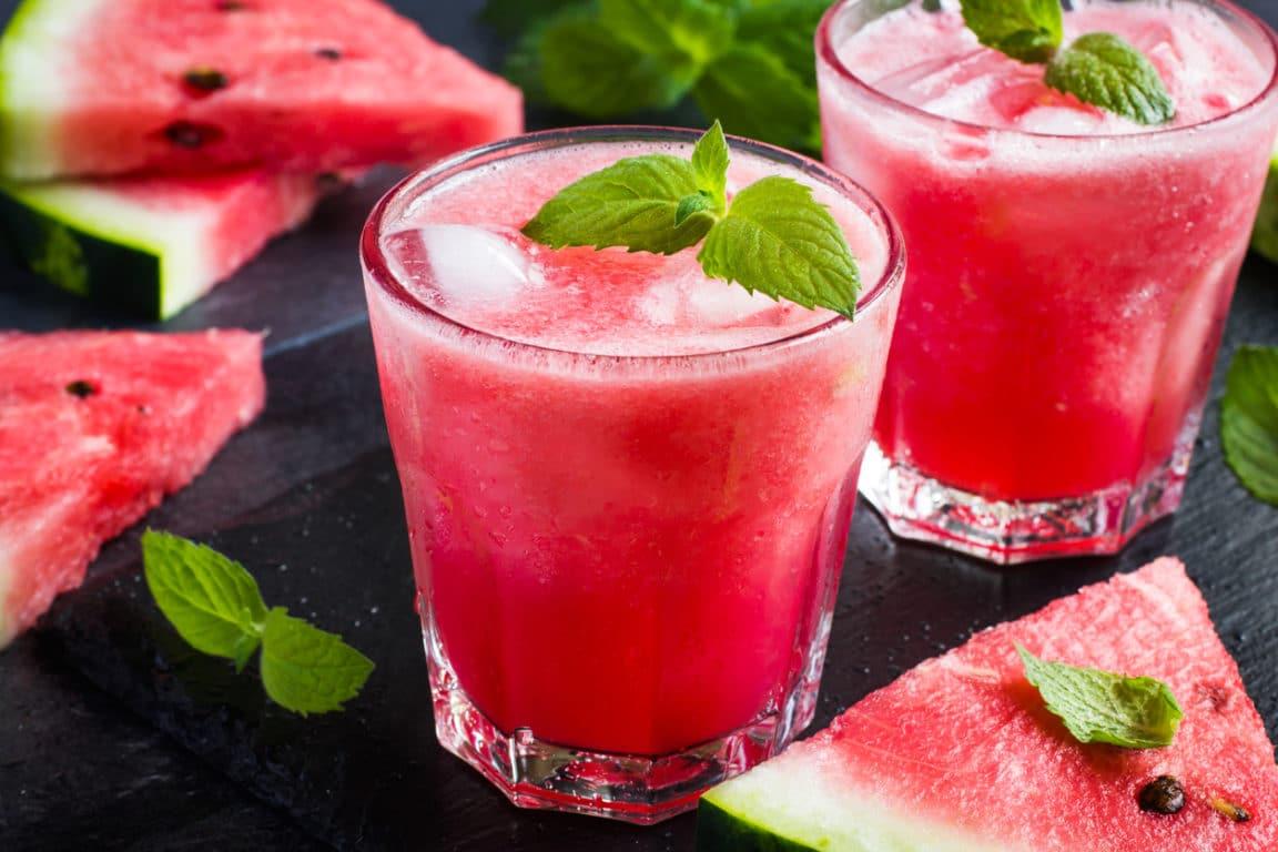 cocktail menthe pastèque