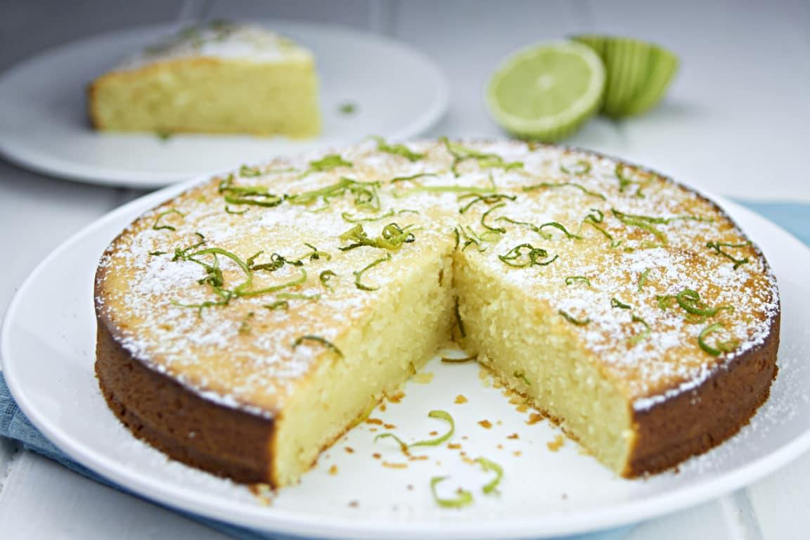 gâteau yaourt citron vert