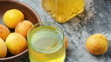 vin abricots